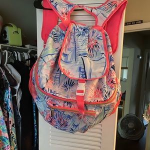 Lilly Pulitzer coolor backpack